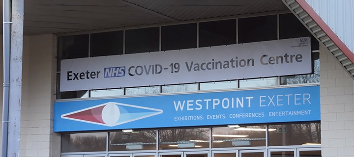 Exeter COVID-19 Vaccination Centre